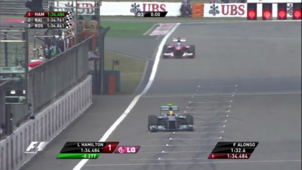 Video «Formel 1: Qualifying GP China» abspielen
