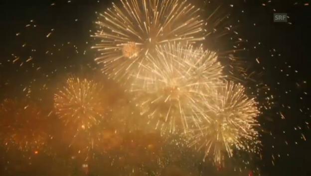 Video «Die Höhepunkte des Feuerwerks» abspielen