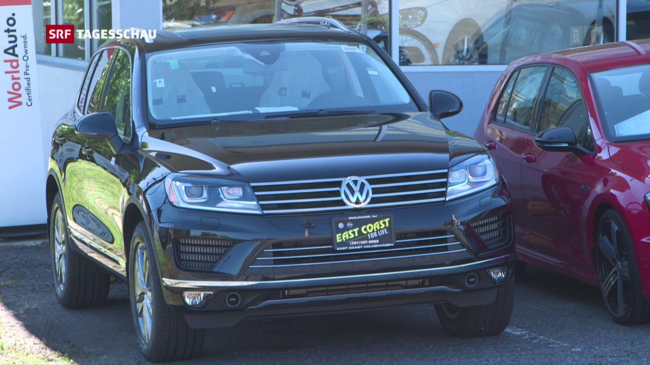 Einigungsvorschlag zwischen VW und den USA