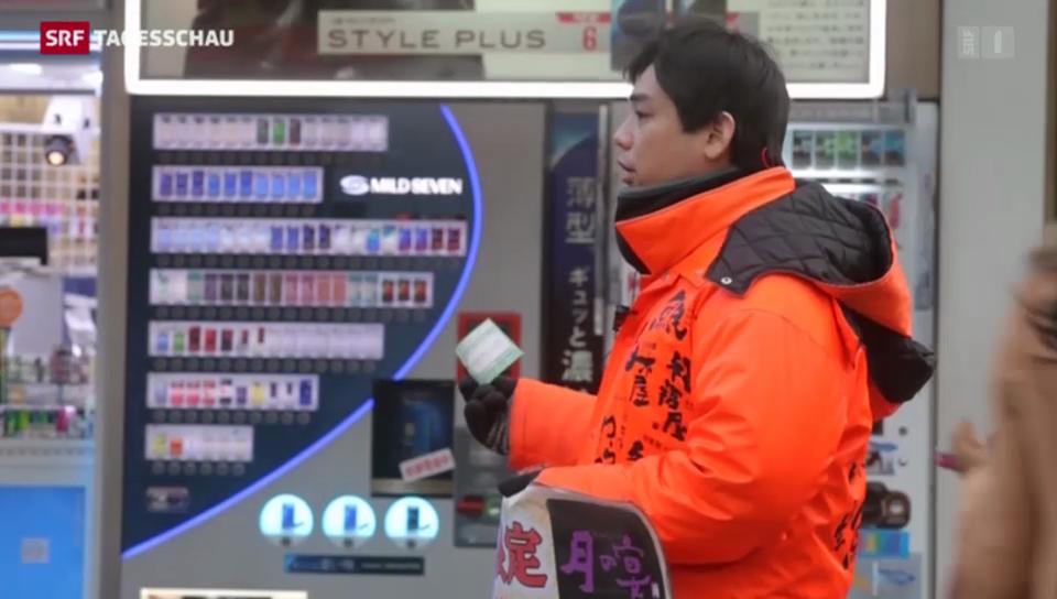 Japan in der Rezession