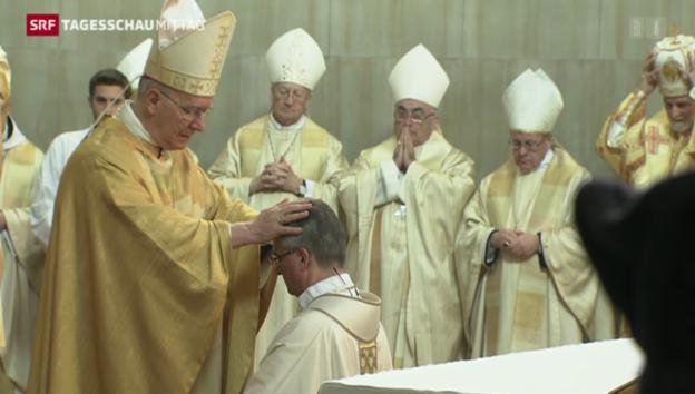 Video «Lugano hat einen neuen Bischof» abspielen