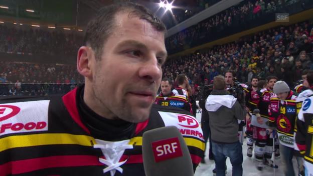 Video «Eishockey: Interview mit Martin Plüss» abspielen