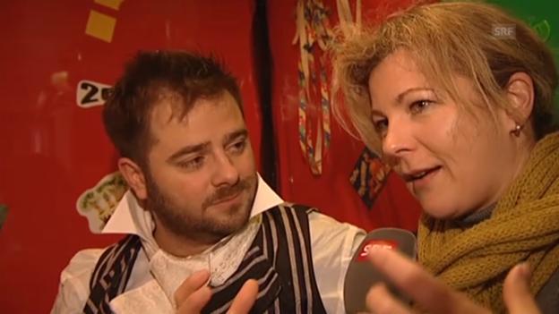 Video «Karin Frei über die Luzerner Fasnacht» abspielen