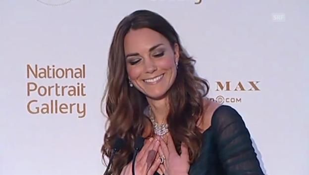 Video «Kates Verhaspler: Wenn eine Herzogin rot wird» abspielen