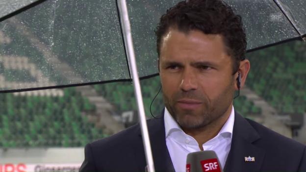 Video «Fortes Analyse zur Niederlage in St. Gallen» abspielen
