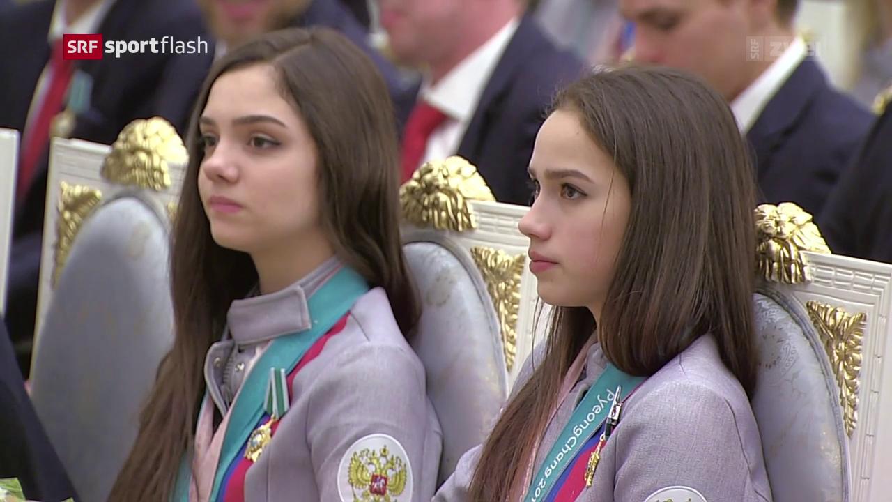 Das IOC begnadigt Russland