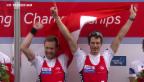 Video «Weltmeister-Ehren für Schweizer Wassersportler» abspielen