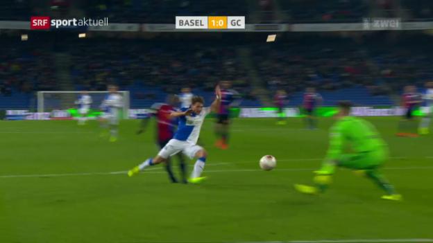 Video «Bernegger-Debüt misslingt in Basel» abspielen