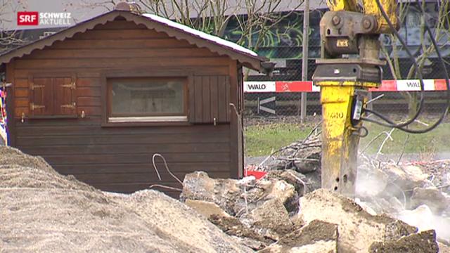 Zurich Schaffhausen Asbest Fall Pfingstweid Teure Konsequenzen