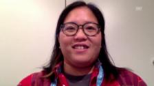 Video «Courtney Nguyen über Timea Bacsinszky» abspielen