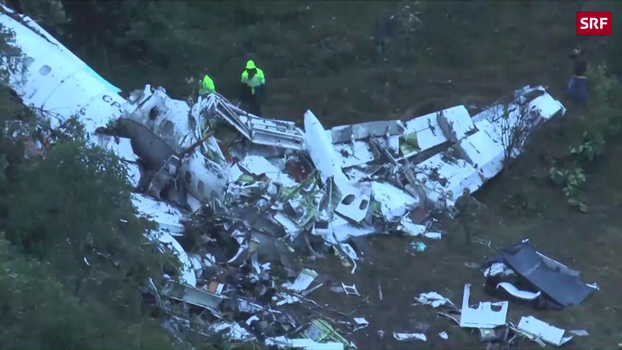 Flugzeugtragödie in Kolumbien