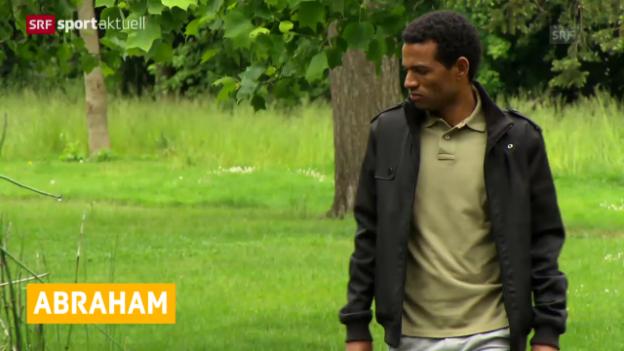 Video «LA: Tadesse Abraham darf an EM starten» abspielen