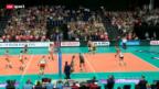 Video «Volleyball: EM in Zürich, Schweiz - Belgien» abspielen