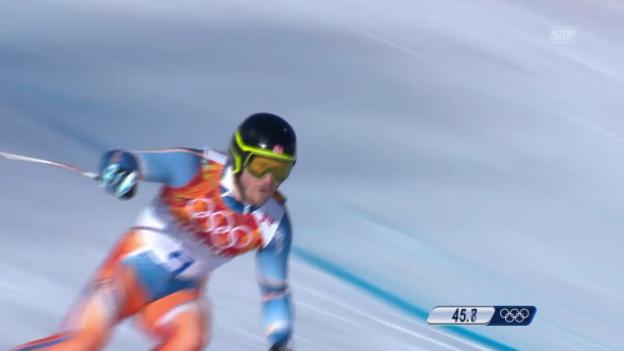 Video «Ski, Kombi-Abfahrt von Kjetil Jansrud» abspielen