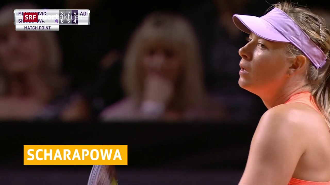 Scharapowas Comeback im Halbfinal gestoppt