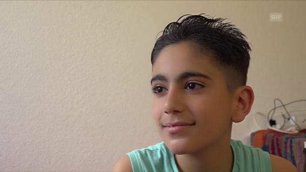 Video «Kusai hat die Fotos aus Syrien verbrannt.» abspielen