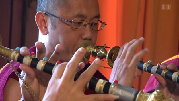 Video «Buddhistische Neujahrszeremonie aus Rikon» abspielen