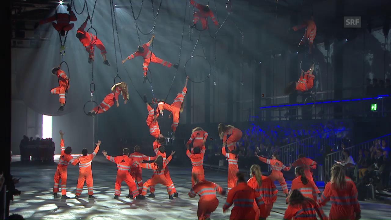 Ausschnitt: Tanz der Arbeiter