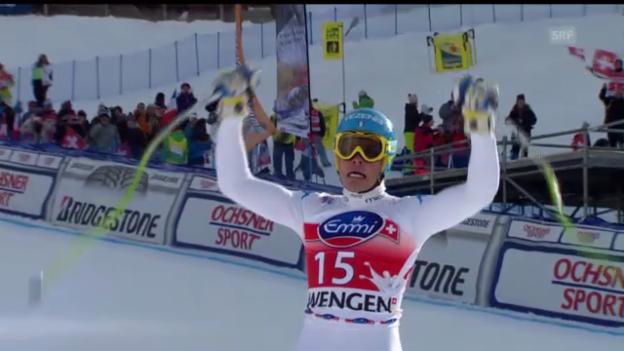 Video «Die Fahrt von Christof Innerhofer («sportlive», 19.01.2013)» abspielen