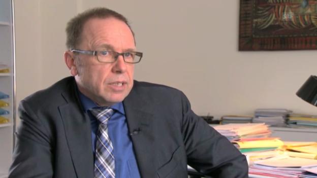 Video «Datenschutzbeauftragter Bruno Baeriswyl über die Risiken von Social Networks» abspielen