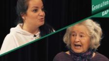 Link öffnet eine Lightbox. Video «Die Frau durfte sich für 'Küche, Kinder und Kirche' engagieren» | Thema Rollde der Frau abspielen
