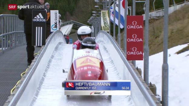 Video «Bob: Weltcup in Altenberg» abspielen