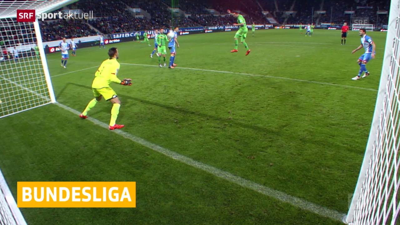 Fussball: Bundesliga, Schweizer treffen