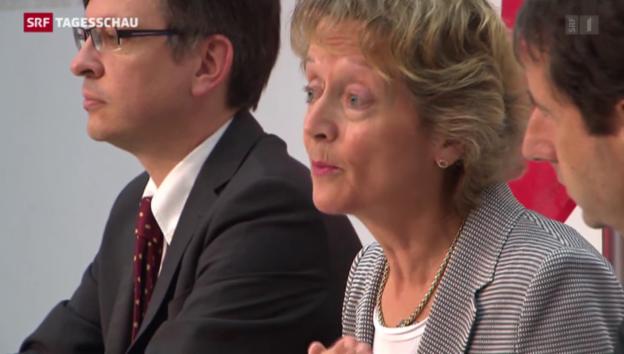 Video ««Nein» zu Bankgeheimnis-Initiative» abspielen