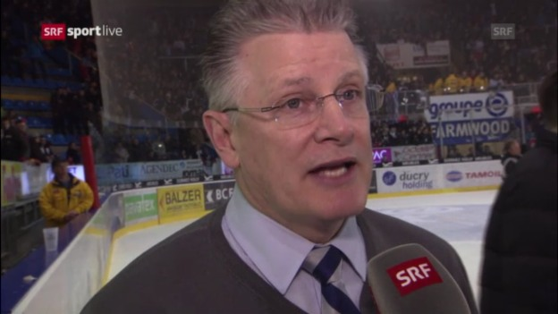 Video «Interview mit ZSC-Trainer Marc Crawford» abspielen