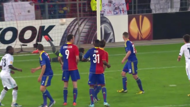 Video «Fussball: Highlights Basel - Chelsea («sportlive»)» abspielen