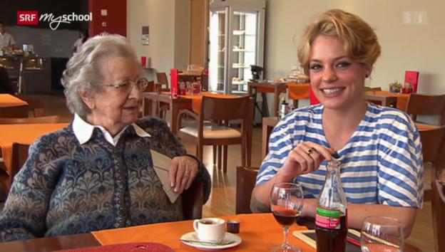 Video «Zimmertausch: Altersheim und WG» abspielen