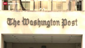 Video «Amazon-Gründer kauft Washington Post» abspielen