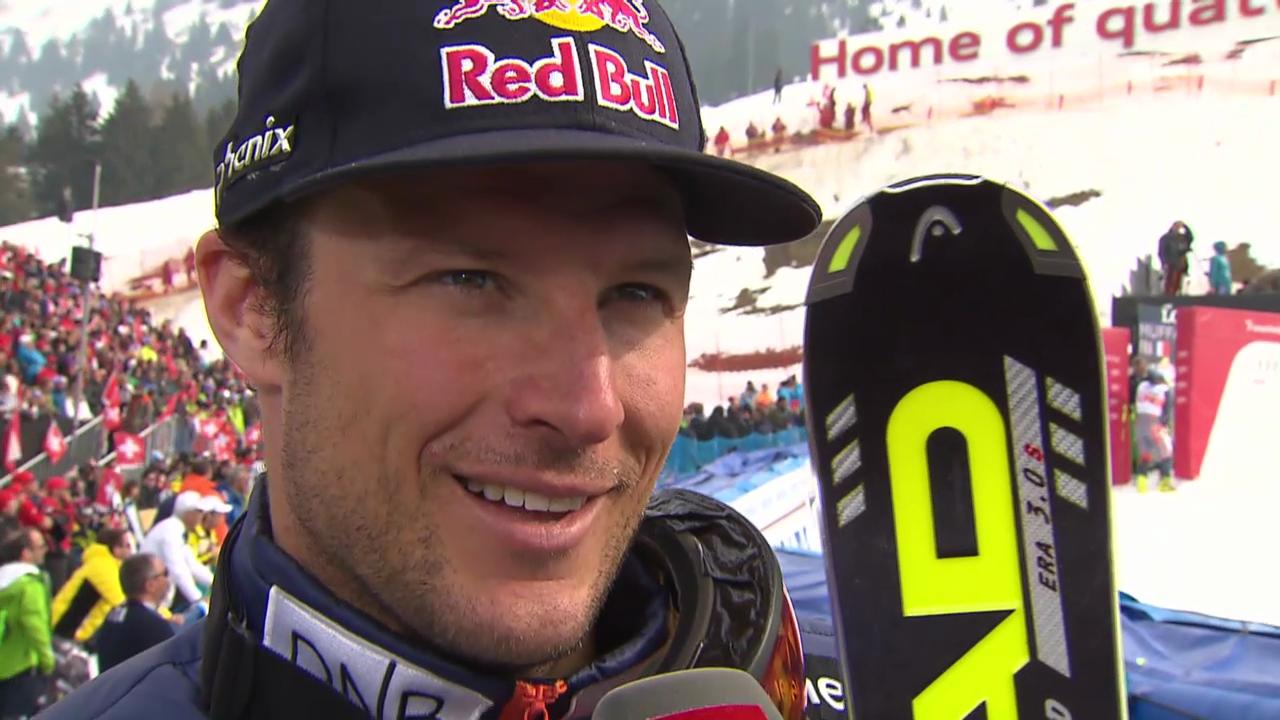 Ski: Riesenslalom Lenzerheide, Interview Svindal («sportlive», 15.03.2014)