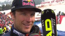 Video «Ski: Riesenslalom Lenzerheide, Interview Svindal («sportlive», 15.03.2014)» abspielen