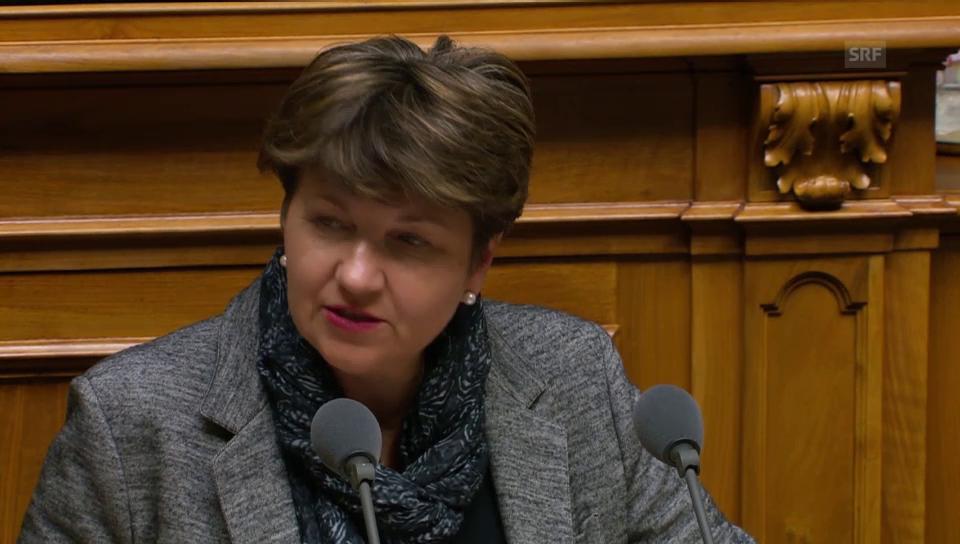 Viola Amherd: «SVP-Initiative führt zu mehr Bürokratie»