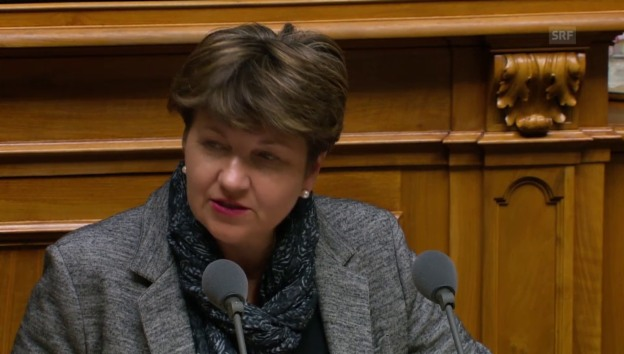 Video «Viola Amherd: «SVP-Initiative führt zu mehr Bürokratie»» abspielen