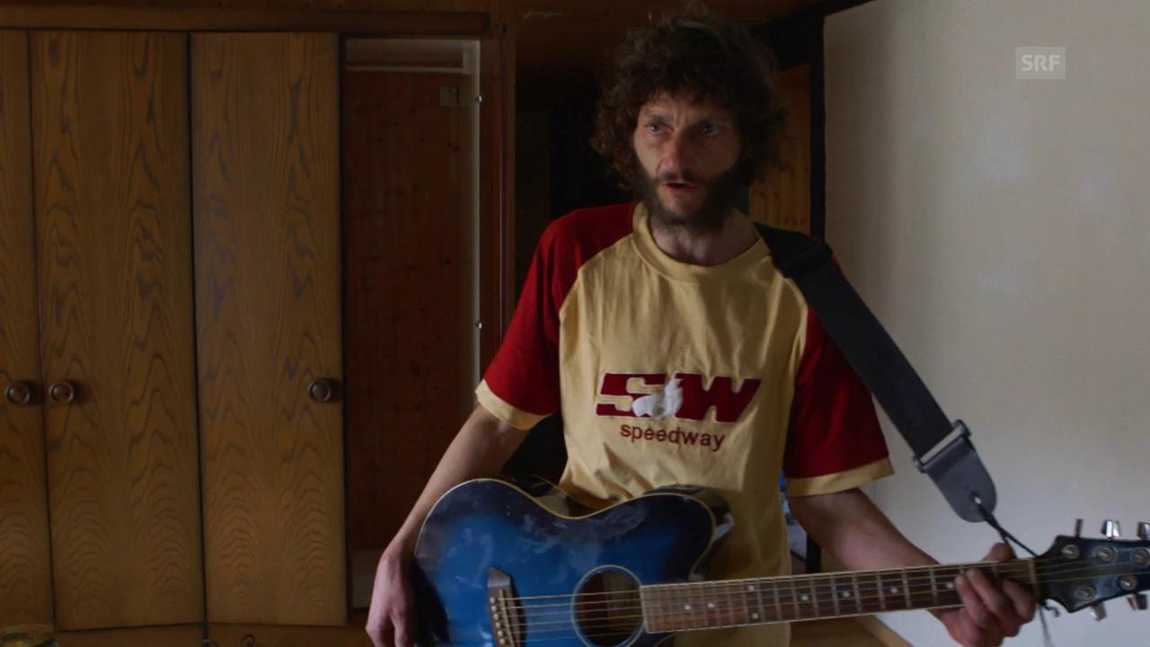 Der Strassenmusiker: Daniele Martin