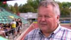 Video «Fussball: Schweizer Cup, Black Stars Basel vor dem FCZ-Spiel» abspielen