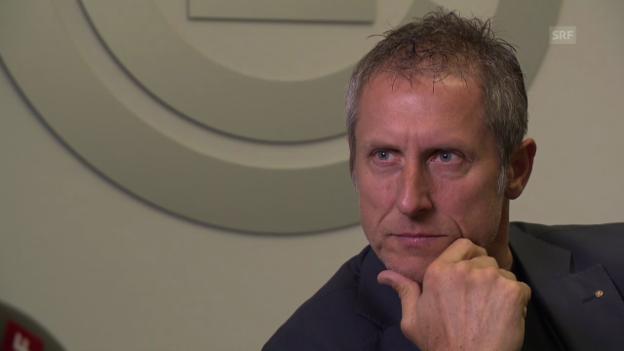 Video «Fussball: GC-Präsident Stephan Anliker im Interview» abspielen