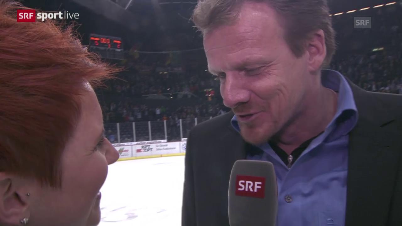 Eishockey: Interview mit Kevin Schläpfer (14.03.2015)