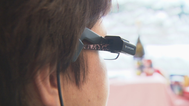 Video «High-Tech-Brille für Sehbehinderte» abspielen