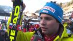 Video «Ski Alpin: Abfahrt Männer in Gröden, Interview mit Feuz («sportlive», 21.12.2013)» abspielen