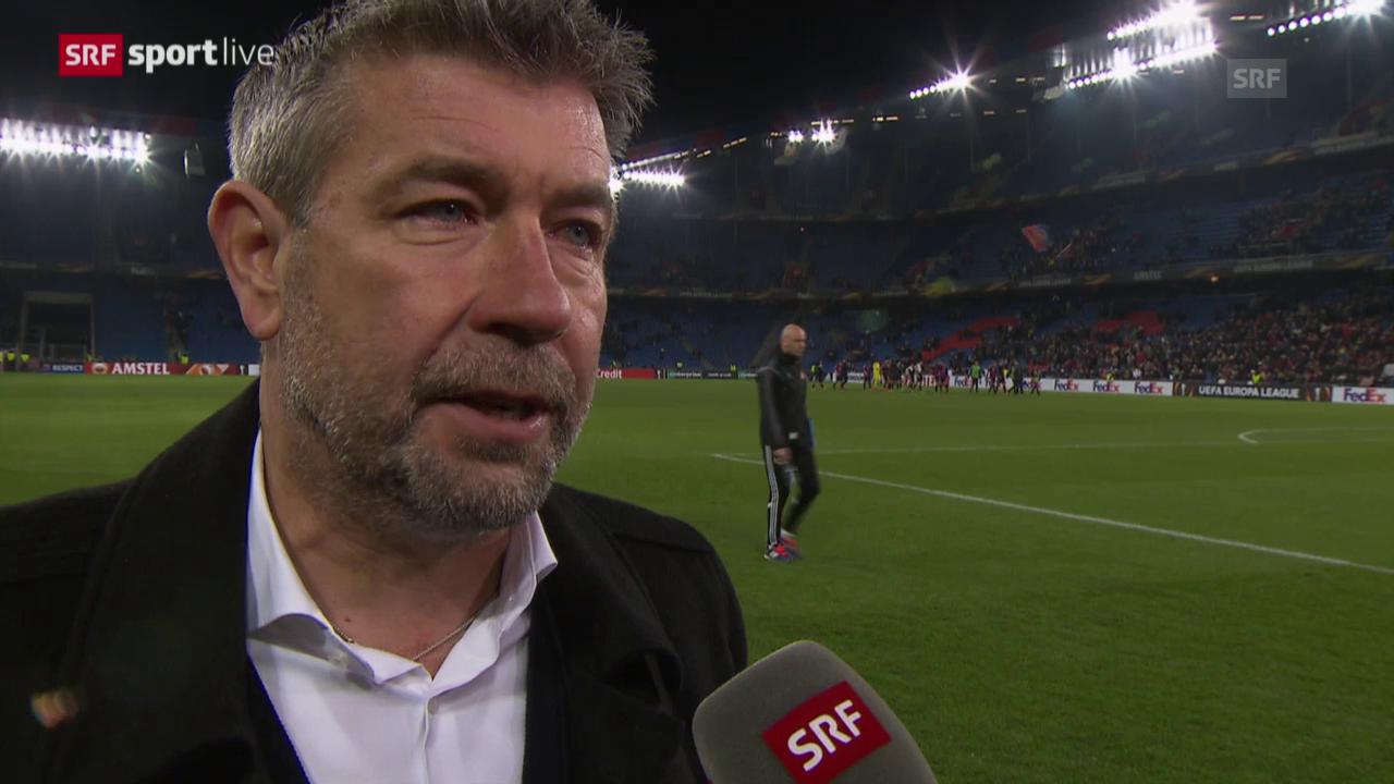 Interview mit Urs Fischer nach dem 0:0 gegen Sevilla