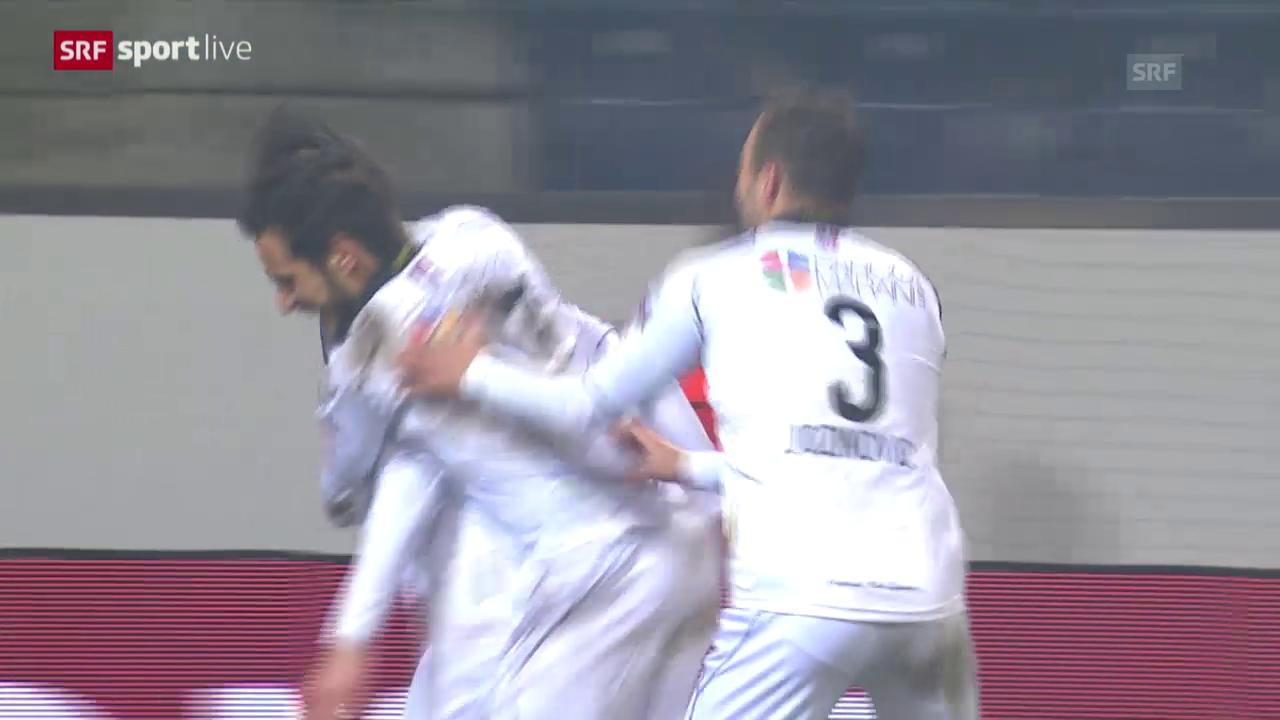 Lugano schaltet den FC Luzern aus