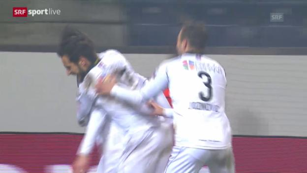 Video «Lugano schaltet den FC Luzern aus» abspielen