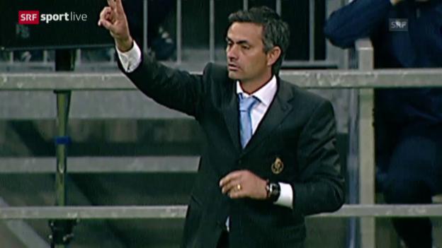 Video «Fussball: Porto-Chelsea, Mourinhos Rückkehr» abspielen