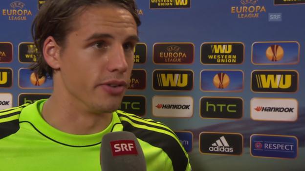 Video «Yann Sommer nach dem Valencia-Spiel» abspielen