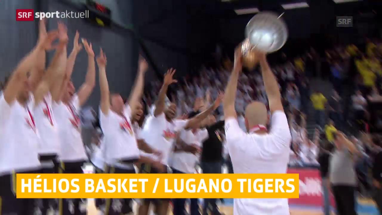 Basketball: Lugano und Hélios Valais holen den Cup