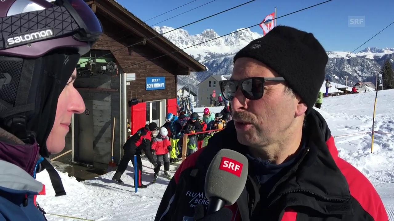 Am Skilift kommt es schon mal zu Verletzungen