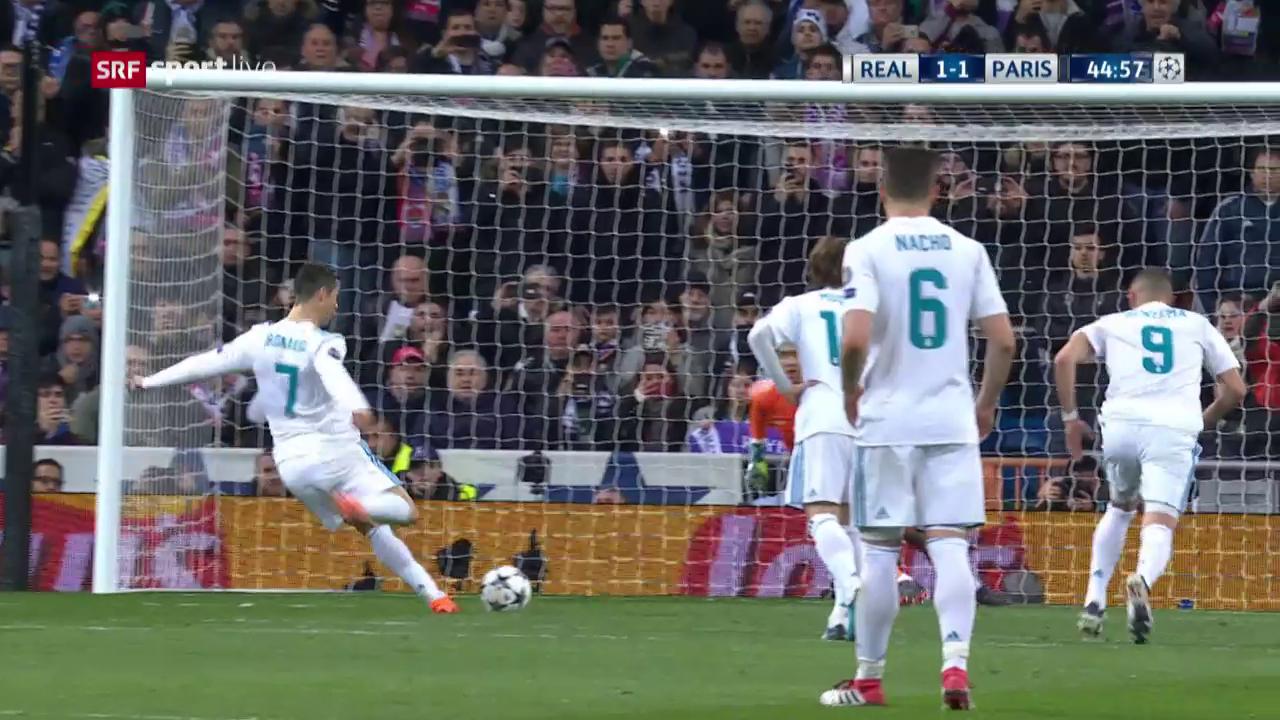 Ronaldo narrte Paris mit verbotenem Elfmeter-Trick